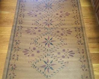 Oil cloth mat