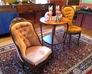 Vintage Parlor Chairs