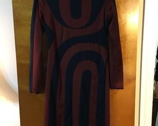 60's inspired classic vintage dress.