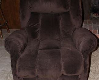 American Furniture Large Brown Recliner