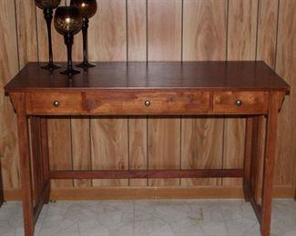 """Mission Style Oak Computer Desk (47 3/8"""" W x 22""""D x 30""""H)"""