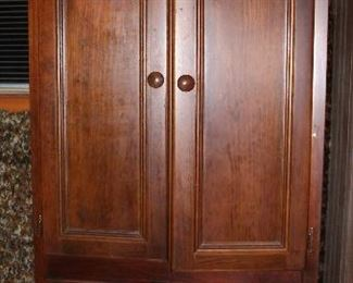 "Hamilton Heritage Cherry Armoire 4-Door Armoire Cabinet (32""W x 79""H x 19""D)"