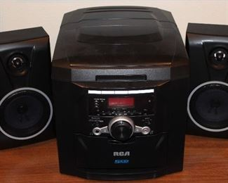 RCA 5CD System with IPod Dock #PT7335