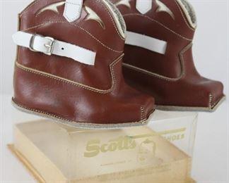 Scott's Shoes Vintage Infant Cowboy Boots