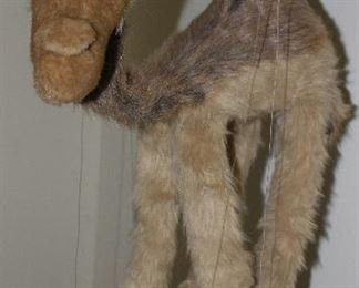 "Large Plush Camel Puppet (approximately 26""H not including strings)"