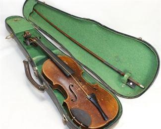 Antique Antonius Stradivarius Cremonensis Faciebat Anno 1736 Violin with Case