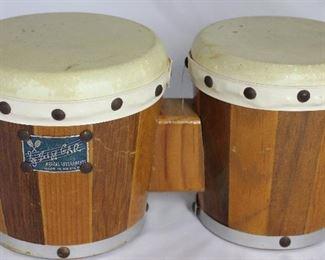 Zim Gar Vintage 1960's Bongo Drums