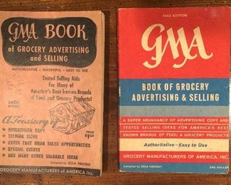 G A Book of Grocery Advertising and Selling:  1953 & 1962