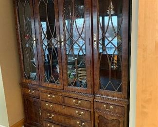 beautiful dining room cabinet