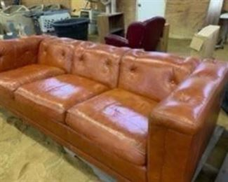 good old sofa for cabin, dorm, apartment, basement