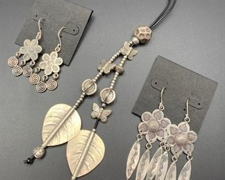 Fine silver jewelry from Thailand, 50% off all weekend!