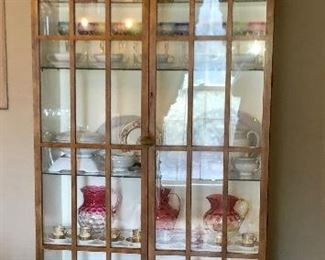 Baker furniture co. Cherry China cabinet