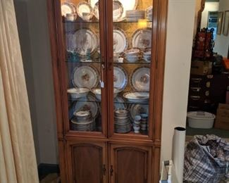 Mid 1960's cabinet. China is Limoges