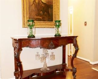 FINE and GRAND Foyer Table