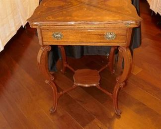 Great Vintage Game Table