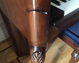 Piano Leg Detail