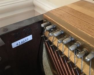 Piano Serial number