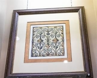 Many decorative prints....