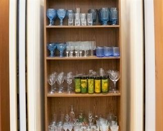A variety of glasses!