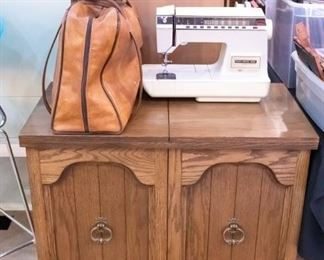Touch Tronic 2005 Memory Machine, and sewing table/cabinet