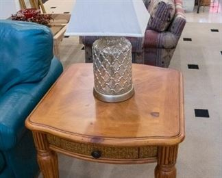 End Tables and Lamps!