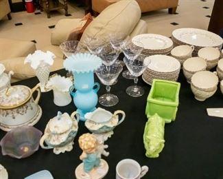 Franciscan, tea cups, Fifth Avenue, Black Knight Waldenburg Studios Desalvo