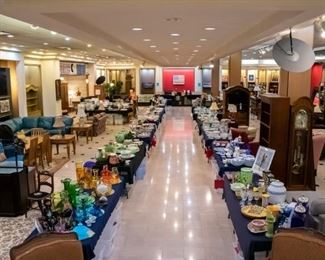 This sale has hundreds and hundreds of unique treasures....be sure an allow some time to look around!