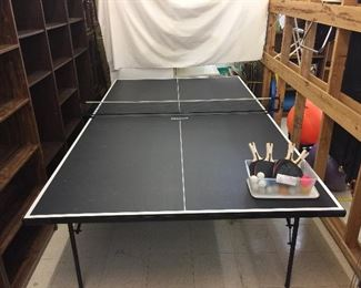 Ping Pong Brand regulation table & accessories.