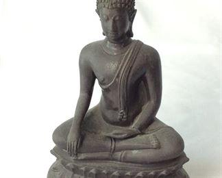 """Hindu Statuette, 9"""" H."""