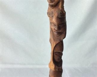 Carved Wood African Art.