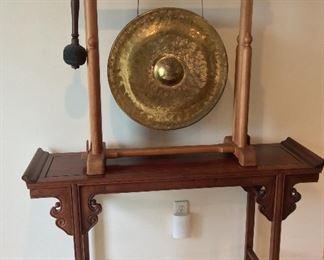 """Gong, 21"""" diameter."""