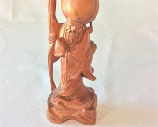 "Wood Carving, 6 1/2"" H."