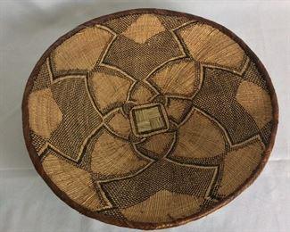 """Basket, 19"""" diameter."""