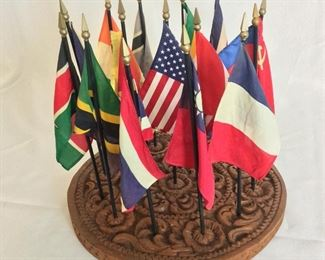 Flags of the Nations of Foreign Service.