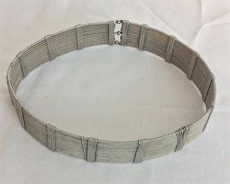 "Wire Belt, 27"" L."