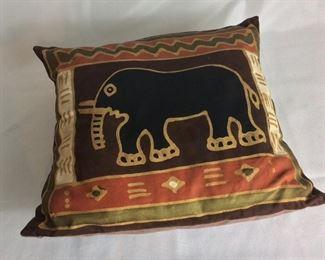 Elephant Pillow.