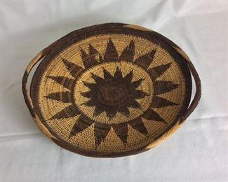 """Basket, 17 1/2"""" diameter."""
