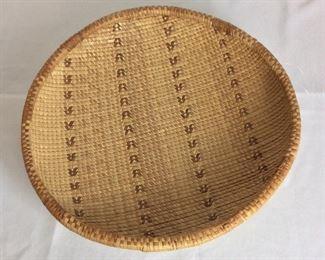 """Zimbabwe Basket, 17"""" diameter."""