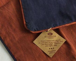 Kudhinda Fabrics Pillow Covers, Zimbabwe.