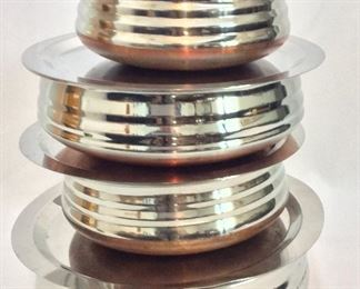 Indian Stacking Cookware.