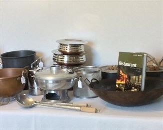 Selection of Professional Culinary Tools.