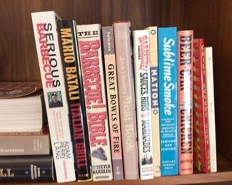 Large Selection of Cookbooks.