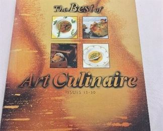 The Best of Art Culinary, Issues 15-30, 2001.