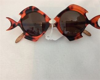 "Vintage Anglo Americana ""Goldfish"" Sunglasses."