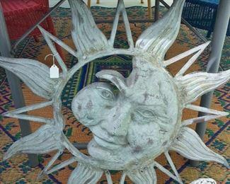 Sun Yard Art.