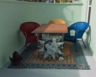 Patio Furniture and Yard Art.