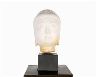 Cohler Designed Buddha Head on Stand
