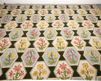 Floral Wool Stark Carpet