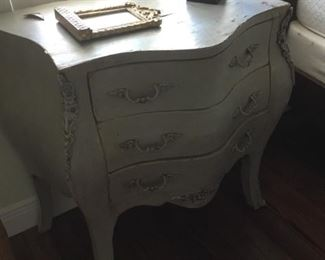 One of two French style chests