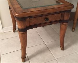 Pair of Haverty's side tables